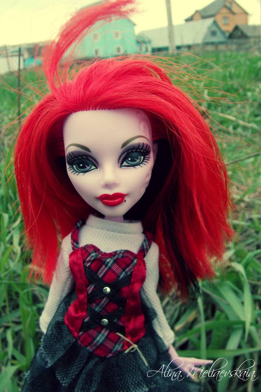 Прически для кукол монстер хай